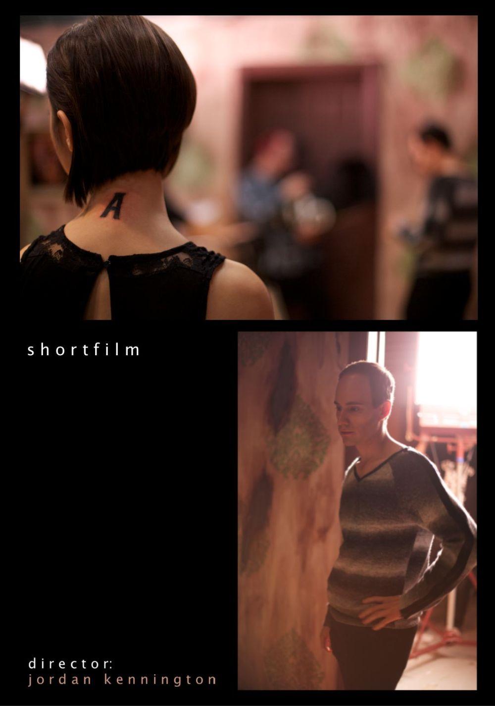 Diana Li's custom design tops for short film.
