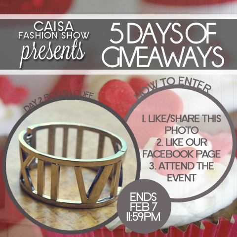 5 Days of Giveaways - Day 2: Roman Cuff
