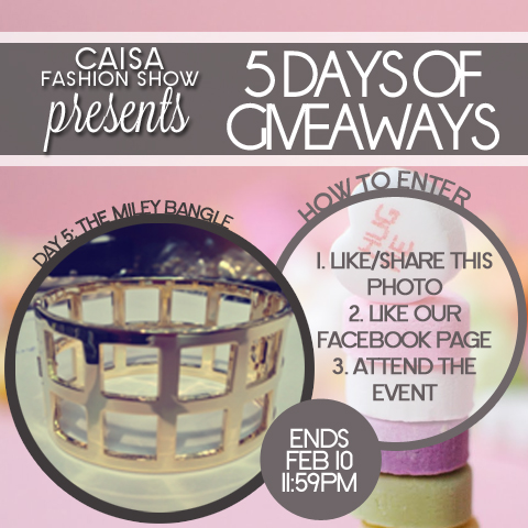 Valentine's 5 Day of Giveaways- Day 5: Cage Bangle