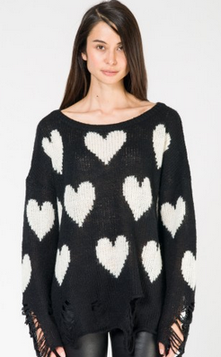 Wildfox Distressed Sweater