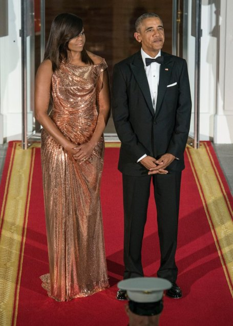 michelle-obama-versace-dress-italy-state-dinner-2016